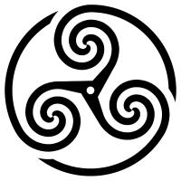 Wheeled-Triskelion