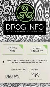 Aplicația Drog Info
